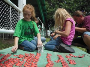 4-Hers helped prep the fairgrounds for the annual fair on Aug. 24. This year, 4-H celebrates its 100th anniversary in Arizona.